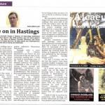 Write on in Hastings